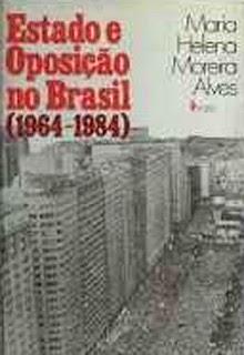 """""""Estado e Oposição no Brasil"""", de Maria Helena Moreira Alves (Foto: Reprodução)"""