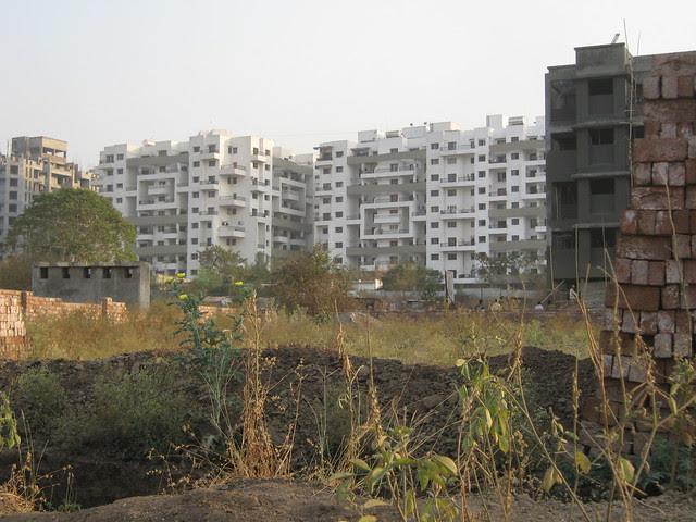 Pristine Fontana from the way to Visit Lohia Jain Group's Riddhi Siddhi, 2 BHK & 3 BHK Flats at Bavdhan Khurd, Pune 411 021