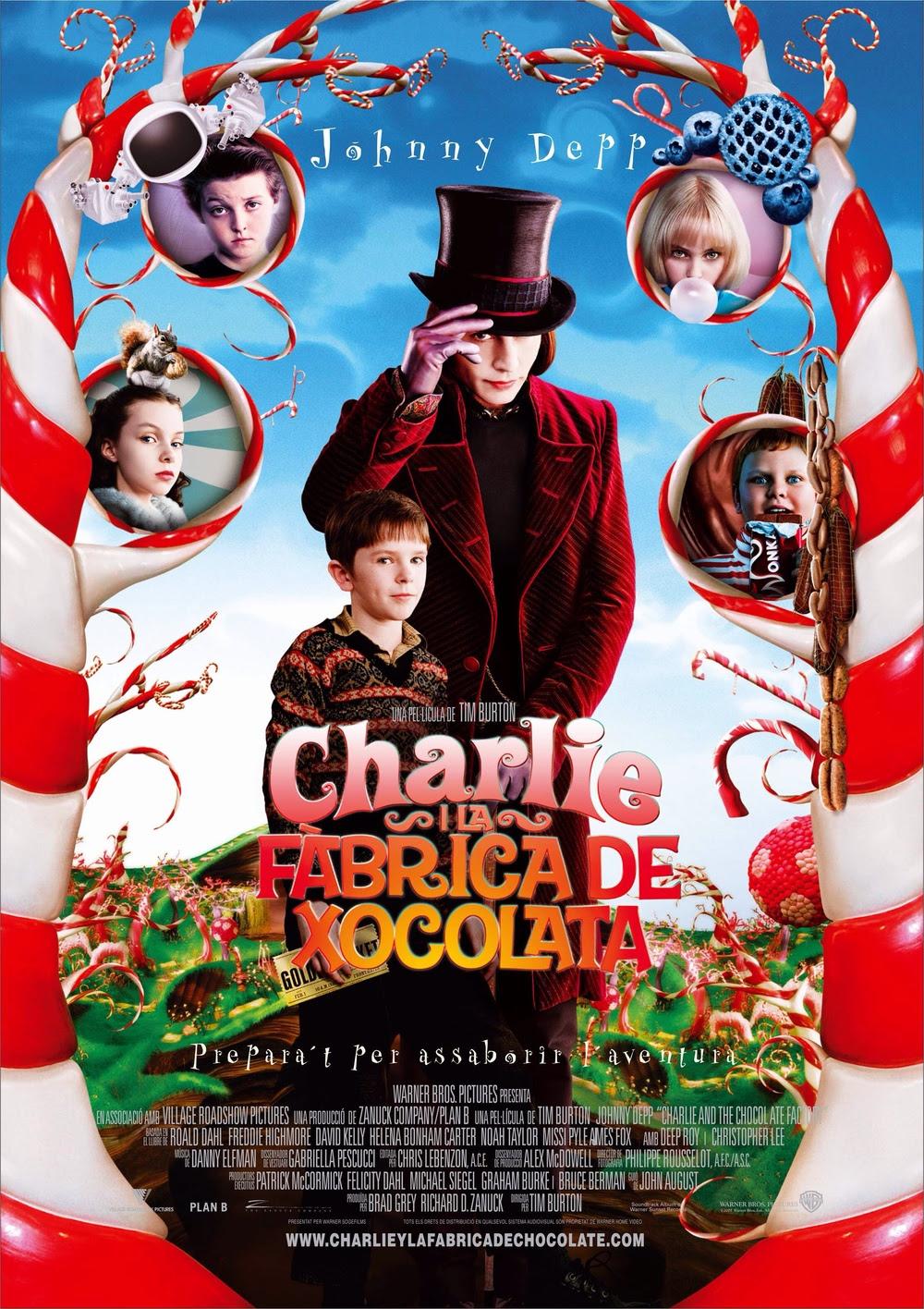 Resultado de imagen para charlie y la fábrica de chocolate