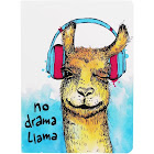 TreeFree Greetings No Drama Llama Eco Journal