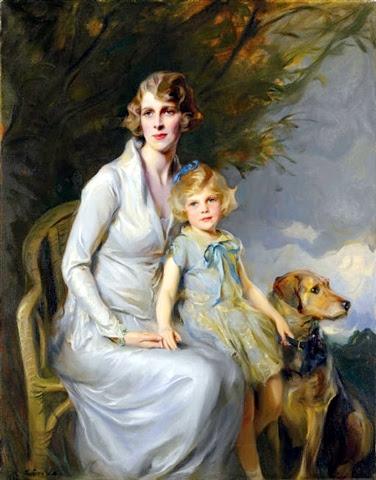 Mrs. Bridgeman and Miss Jeannine Bridgeman