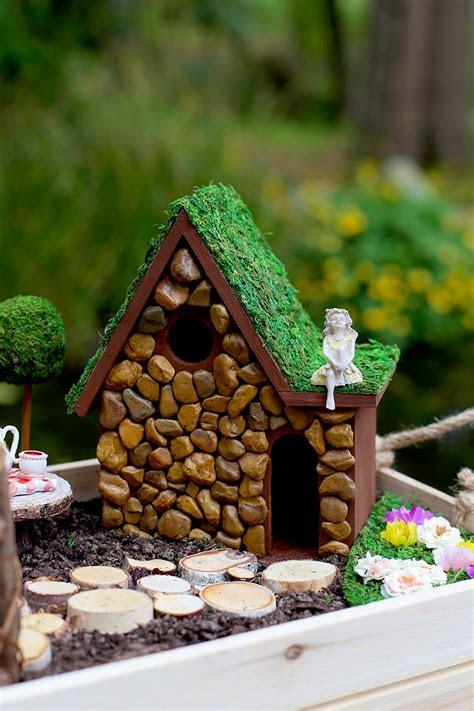 diy fairy garden  fairy house tutorial sew  ado