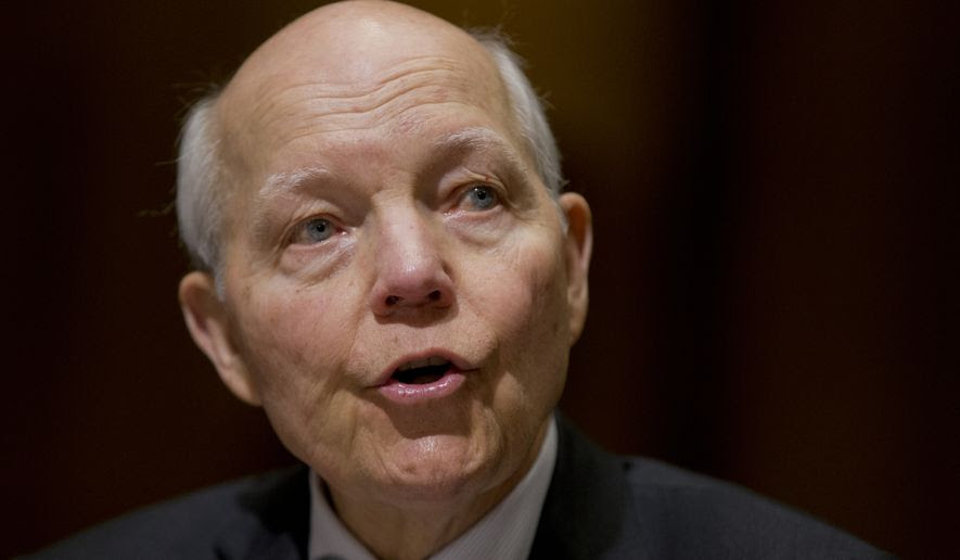 "Just weeks ago IRS Commissioner John Koskinen had assured Congress the targeting was a thing of the past, and said his agency will no longer use the ""Be on lookout,"" or BOLO, lists. (Associated Press)"