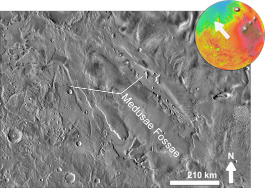 The Medusae Fossae Formation on Mars could be the result of explosive volcanic eruptions