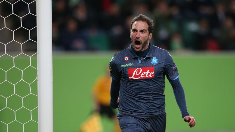 Gonzalo Higuain is a striking option he's not a great footballer but he knows what to do when he gets the chance to score