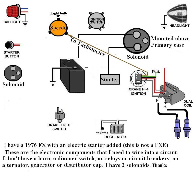 Shovelhead Wiring Diagram Relay - Complete Wiring Schemas