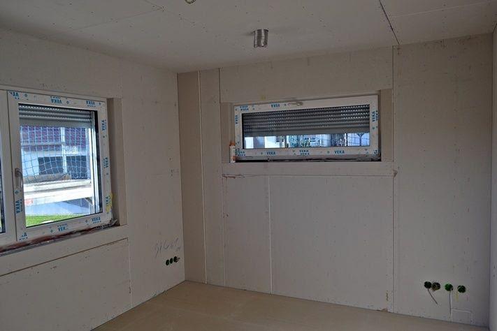 einmal eigenheim bitte zweite woche innenausbau. Black Bedroom Furniture Sets. Home Design Ideas