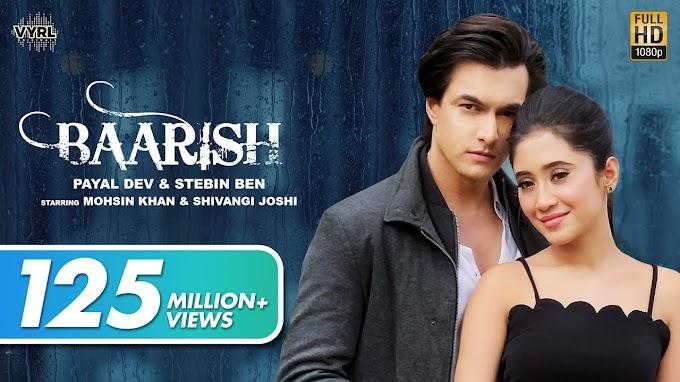 'Baarish' Hindi song lyrics in English by Payal Dev   Stebin Ben   Aditya Dev