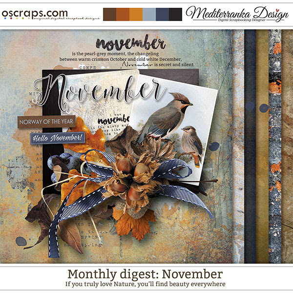 Monthly Digest: November (Mini kit)