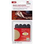 3M Tekk Protection Rug Anchors - 4 count