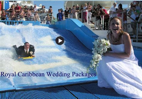 Royal Caribbean Royal Romance Wedding Packages with Prices