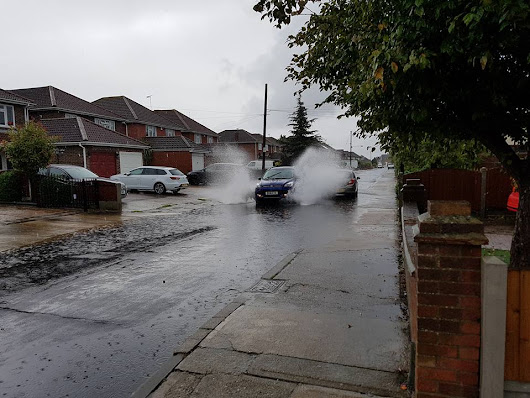 FLOODING: heavy rain causes serious flooding across Essex