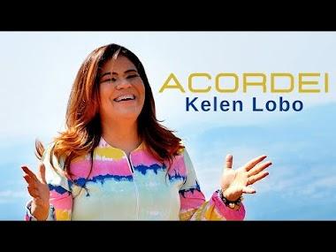 "No clipe ""Acordei"", Kelen Lobo voa de parapente e declara: ""Arrebatador"""