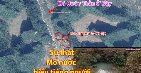 Sự thật mỏ nước kỳ lạ ở xã Hồng Quang Huyện Quảng Uyên Tỉnh Cao Bằng