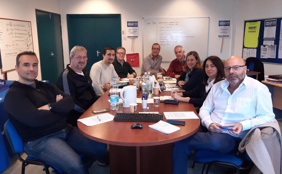 Reunión en Gibraltar del CSIR Sur