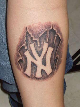 Ny Yankees Logo Tattoo