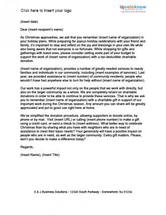 Christmas Holiday Request Letter.95 Solicitation Letter For Employees Christmas Party