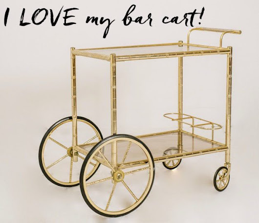 BAR CART ROUNDUP + BAR CART STYLING - Daly Digs