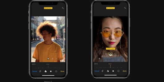 Apple to add support for depth control while taking an image w/ iPhone XS, report suggests | 9to5Mac