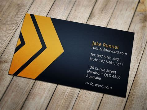 Moving Forward Business Card ~ Business Card Templates