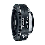 Canon - EF-S 24mm f/2.8 STM Standard Lens for Canon APS-C Cameras - Black