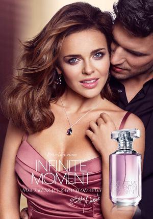 Edyta Herbuś w kampanii perfum Avon