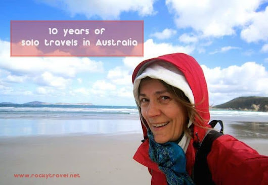 10 years of solo travels in Australia