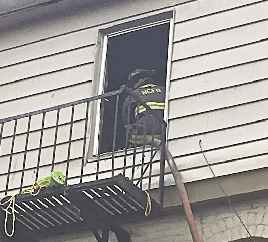 Fire displaces tenants of six-apartments