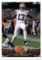 2013 Topps NFL Football Card # 198 Josh Gordon Cleveland Browns IN PROTECTIVE SCREWDOWN CASE!