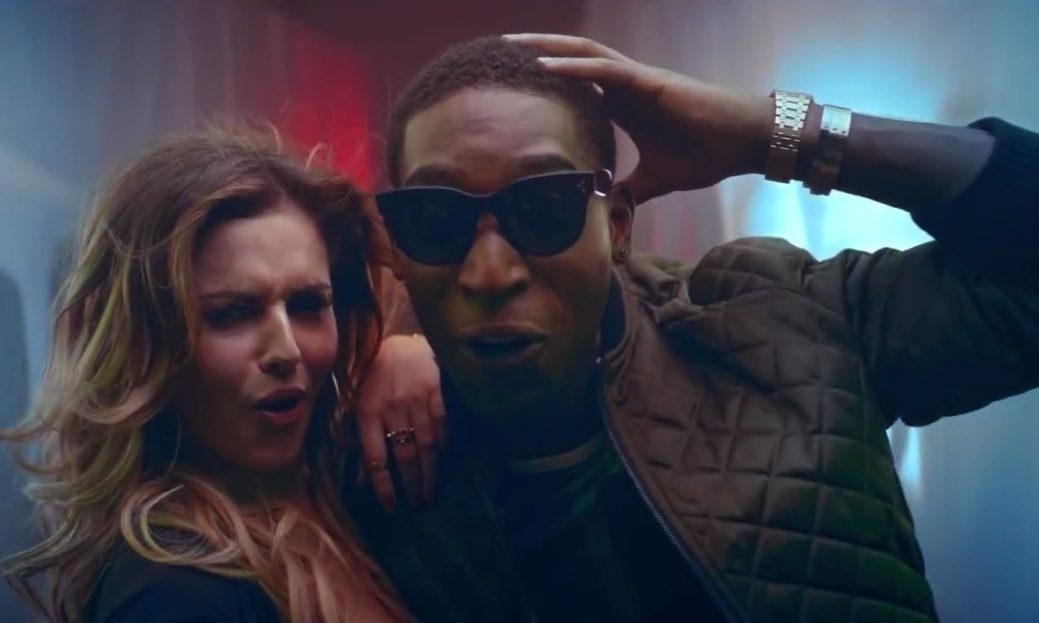 Tinie Tempah and Cheryl Cole