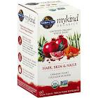Garden of Life MyKind Organics Hair, Skin & Nails, Vegan Tablets - 60 tablets