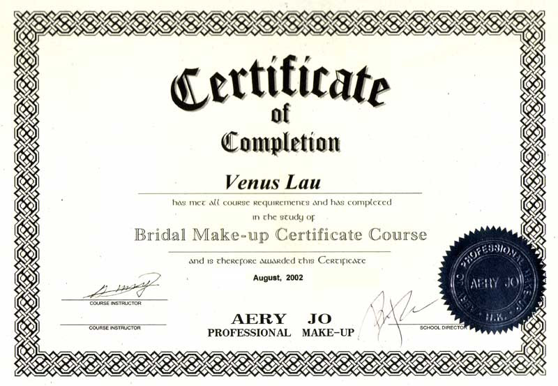 Makeup Artist Certification Online