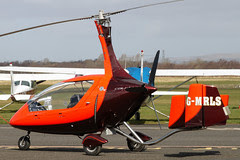 G-MRLS - 2012 build Rotorsport UK Calidus, parked on the main apron at Barton