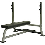 Valor Fitness - BF-7 - Olympic Bench w/ Spotter