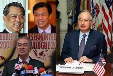 Muhyiddin, Presiden Umno; Zahid, Timbalan; kemana Najib?