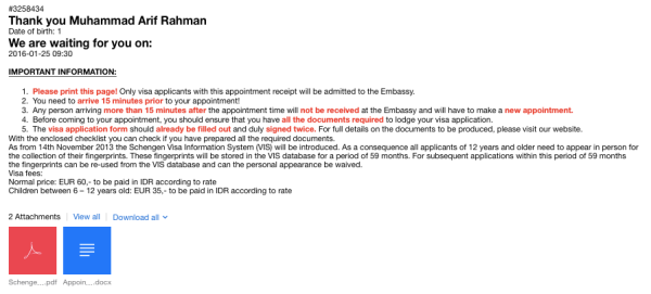 Contoh Surat Keterangan Kerja Untuk Pembuatan Visa Amerika ...