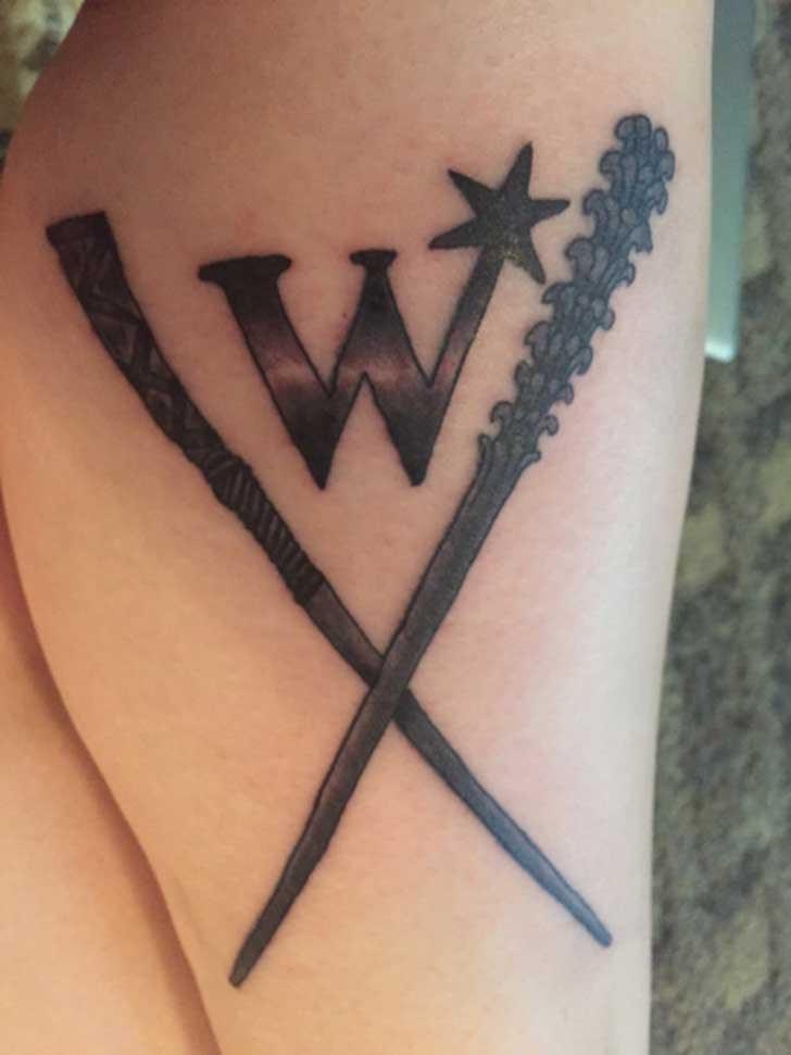 30 Increíbles Tatuajes Que Todo Fanático De Harry Potter Envidiaría