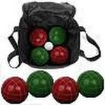 Trademark Games 9 Piece Bocce Ball Set with Easy Carry Case