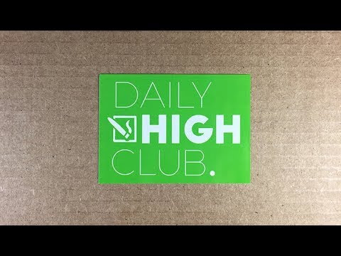 Daily High Club Unboxing/Review