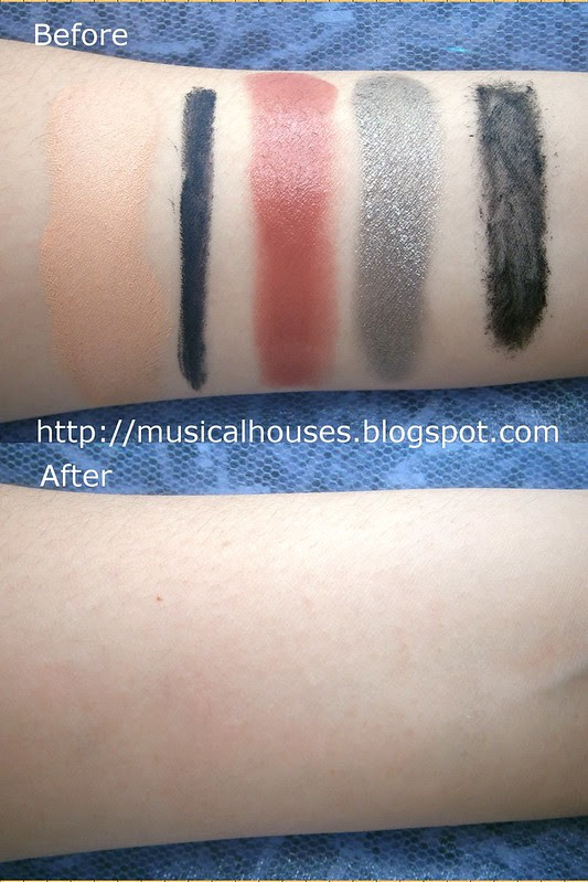 Hada Labo ES Sensitive Skin Makeup Remover test w