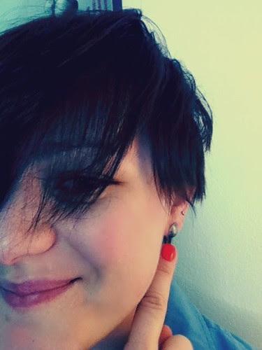 earrings of leaves