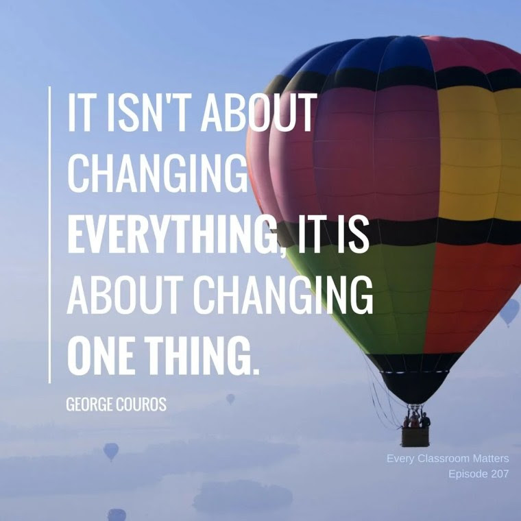 it isn't about changing everything (1)