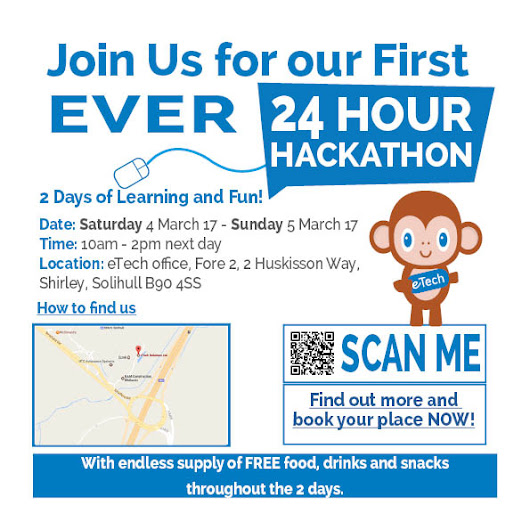 eTech to host their first ever Hackathon - eTech