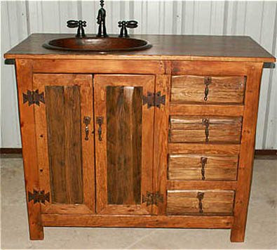 Log Home Pedestal Sink Shaped Like A Log - The Fun Times Guide to ...