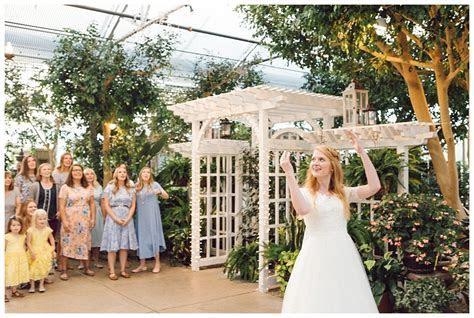 Wedding Venues in Salt Lake City   Garden Reception at Le