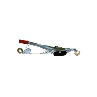5 Ton Hand Ratchet Hoist Come Along Pulley Cable System 2