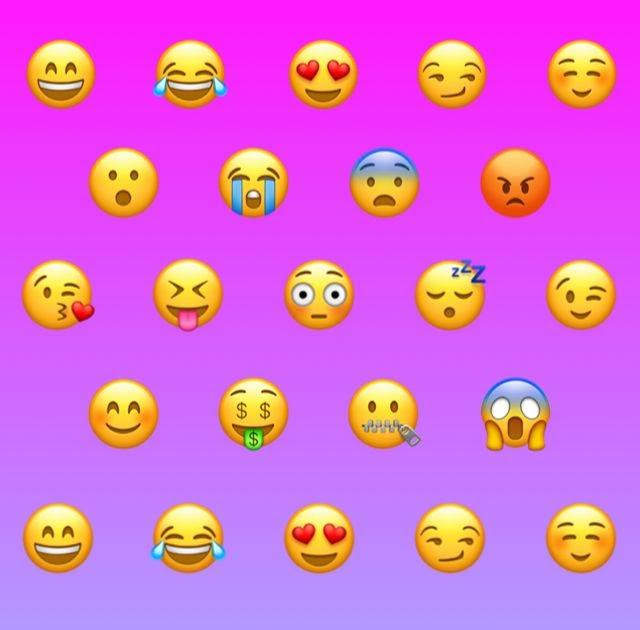 Gambar Emoji Iphone Latar Hitam - Contoh Gambar Latar