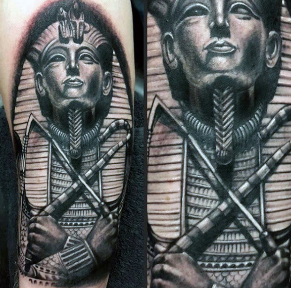 63 Great King Tut Tattoo Designs That Bend Your Mind Parryzcom