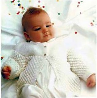 Spotlight Free Knitting Patterns Babies : Craft Passions: Baby Jacket.# free #knitting pattern link here
