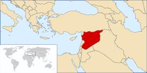 (en) Syria Location (he) מיקום סוריה